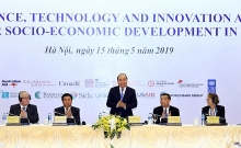 pm attends science technology innovation meeting