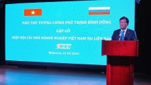 deputy pm chairs meeting of vietnamese russian businesses