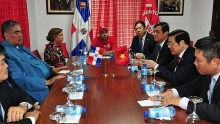 party delegation visits dominican republic to cement ties