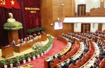 first working day of 12th session of party central committee takes place