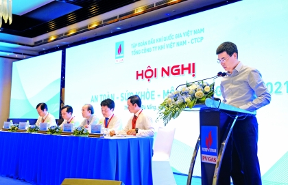 pv gas holds conference to promote safety health of its operations