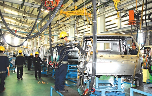 apec sees automotive sector as driving force