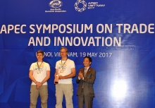 the australian team took out first prize at the 2017 apec app challenge
