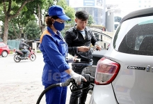 oil petrol prices increase slightly