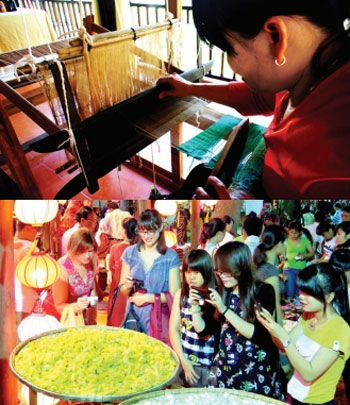 hoi an prepares for intl silk and brocade festival