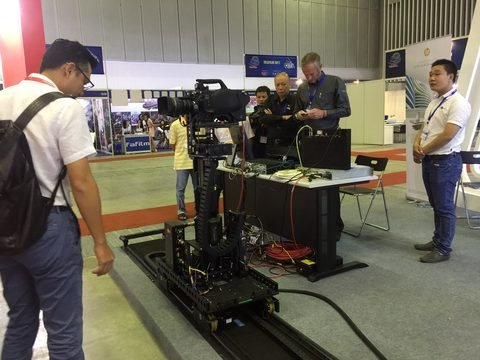 international film tv technology expo opens in hcm city