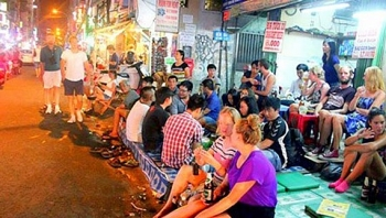 ho chi minh city bui vien walking street to open in july