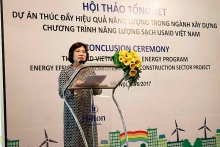 project promoting efficient use of energy in construction reviewed