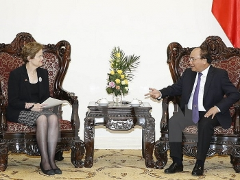 pm receives special envoy of australian pm