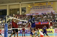 asian mens club volleyball championship kicks off in ninh binh