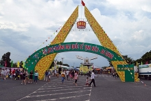 tinh bien an giang international trade fair opens