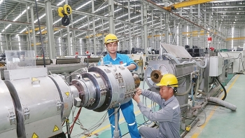 industrial production soars 97 percent in five months