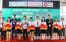 bac ninh hosts vietnam industrial and manufacturing fair