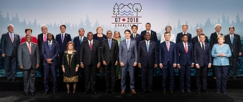 pm calls for setting up expanded cooperation forum in response to climate change at g7 outreach summit