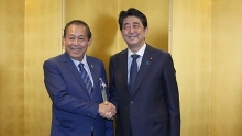 vietnam japan enjoy sound strategic relations deputy pm