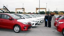 vehicle import triples in early june
