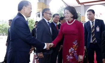 vietnamese vice president pays official visit to laos