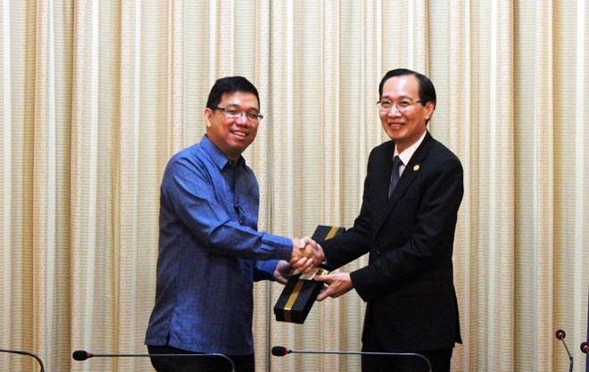 hcm city enhances trade cooperation with the philippines