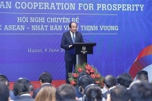 seminar discusses asean japan cooperation for prosperity