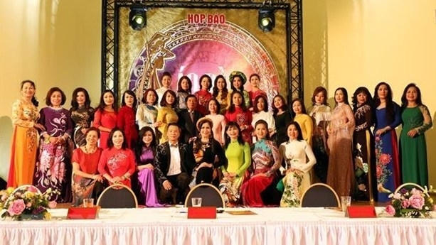 mrs ao dai vietnam europe 2020 launched