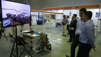 seaport infrastructure and logistics exhibition opens in ho chi minh city