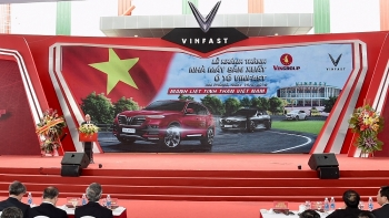 vinfast inaugurates car manufacturing plant in hai phong