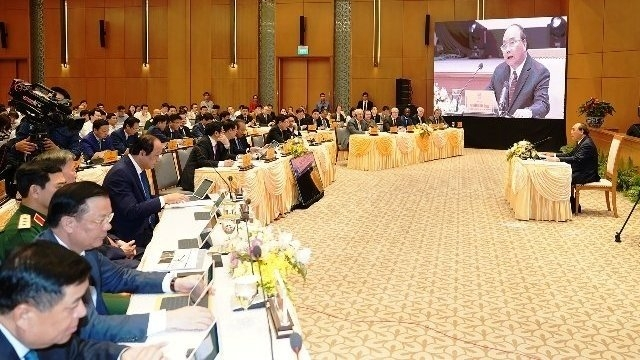 pm chairs first government meeting via e cabinet system