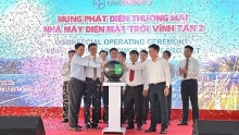 vinh tan 2 solar power plant begins commercial operation