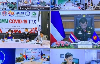 asean military forces conduct online covid 19 response exercise