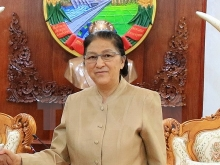 lao na chairwoman pays official visit to vietnam