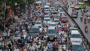 hanoi plans to ban motorbikes in city center in 2030