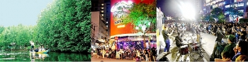 ho chi minh city street art pedestrian malls lure visitors