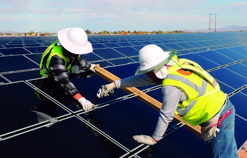 kick starting a 100mw solar power project in long an province