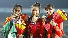huyen wins gold at asian athletics competition breaks sea games record