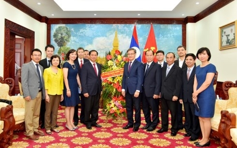 foreign ministry lao embassy celebrate friendship year 2017