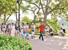 surge in tourism to nations capital hanoi