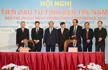 pm asks ben tre to prioritize land funds for investors