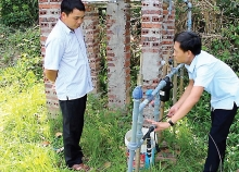 drip irrigation proves efficient in hilly terrain