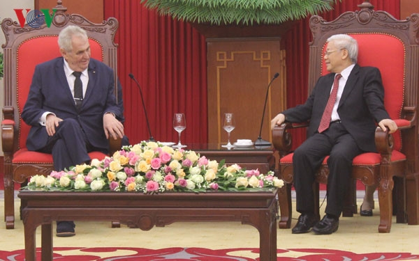 stronger collaboration between vietnam and czech republic urged