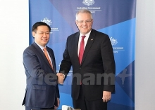 deputy pm visits australia to boost bilateral ties