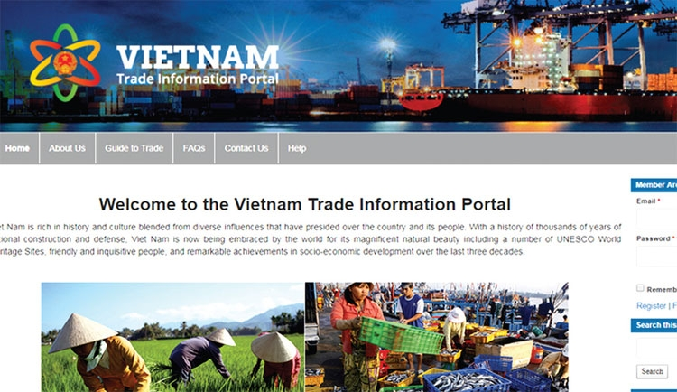 new portal promotes export import activities