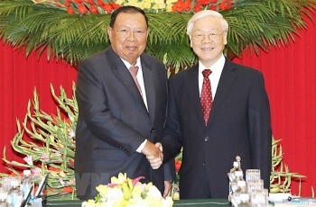 top lao leader pays five day visit to vietnam