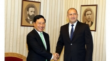 deputy prime minister and foreign minister visits bulgaria