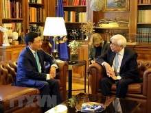 greek president backs all round cooperation with vietnam