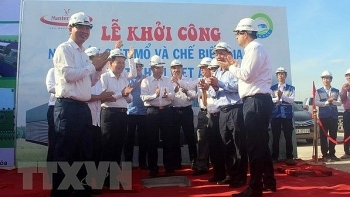 countrys most modern poultry processing plant built in thanh hoa