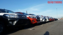 tmvs first batch of automobiles enters vietnam