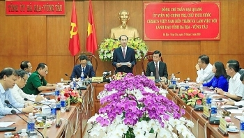 president urges ba ria vung tau to use resources effectively