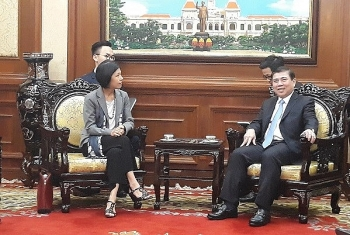 hcm city beefs up cooperation with canada lithuania