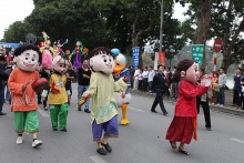 huge street festival to take place in hanoi