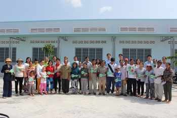 habitat for humanity vietnam highlights achievements of partnership with posco